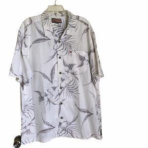 Quick silver Hawaiian shirt